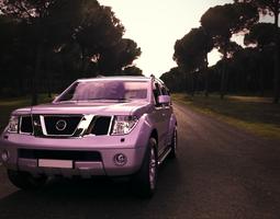 3D model Nissan Pathfinder