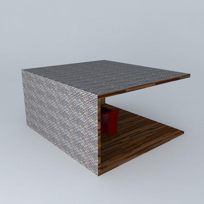 Chambre A Coucher 180X200 : Modern Kitchen cuisine moderne free 3D Model MAX OBJ 3DS FBX STL SKP