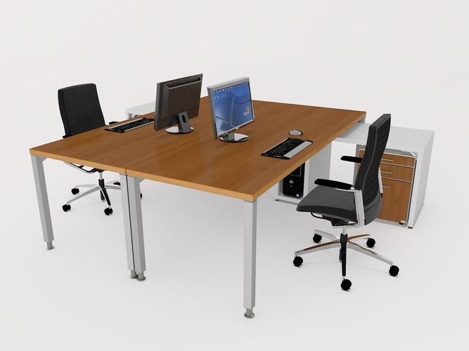 Office Desk Model S Fbx C4d