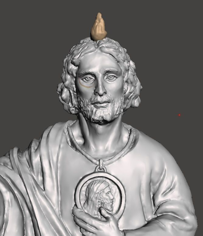 Saint Jude Full Body Sculpture