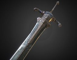 Sword of Artorias 3D Model