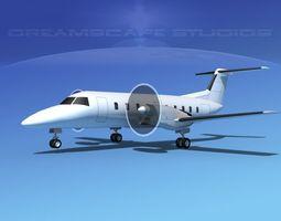 3D model Embraer E-120 Brasilia LP SS embraer