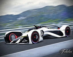chevrolette chaparral 2x vision gt and environment 3d