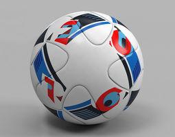 Euro 2016 Ball Beau Jeu official uefa 3D Model