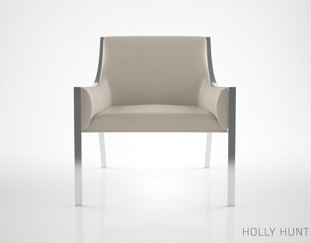 Holly Hunt Aileron Lounge Chair 3D Model