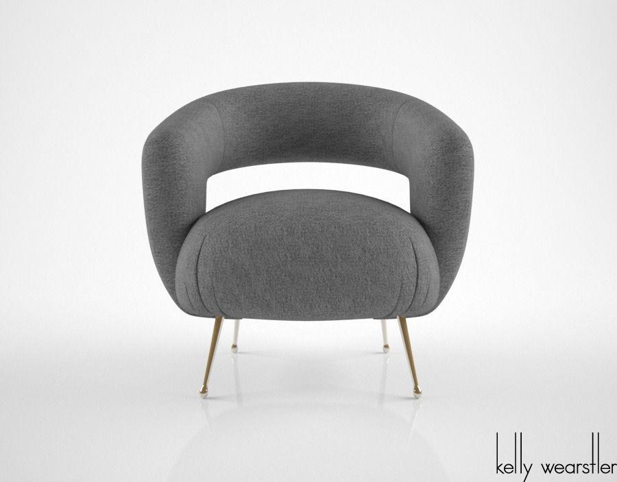 Kelly Wearstler Laurel Lounge Chair Model