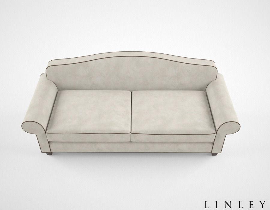 Linley Andrea Sofa Free 3d Model Max