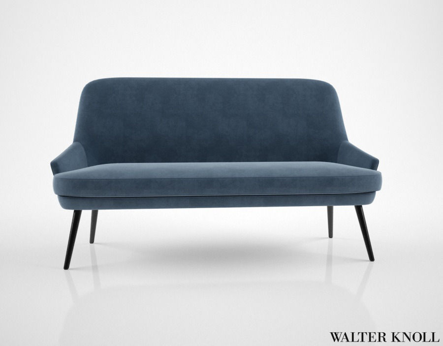 walter knoll 375 sofa 3d model max obj fbx mtl. Black Bedroom Furniture Sets. Home Design Ideas