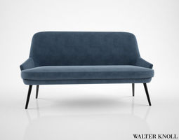 Walter Knoll 375 Sofa 3D Model