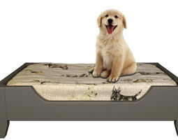 3D Dog Bed