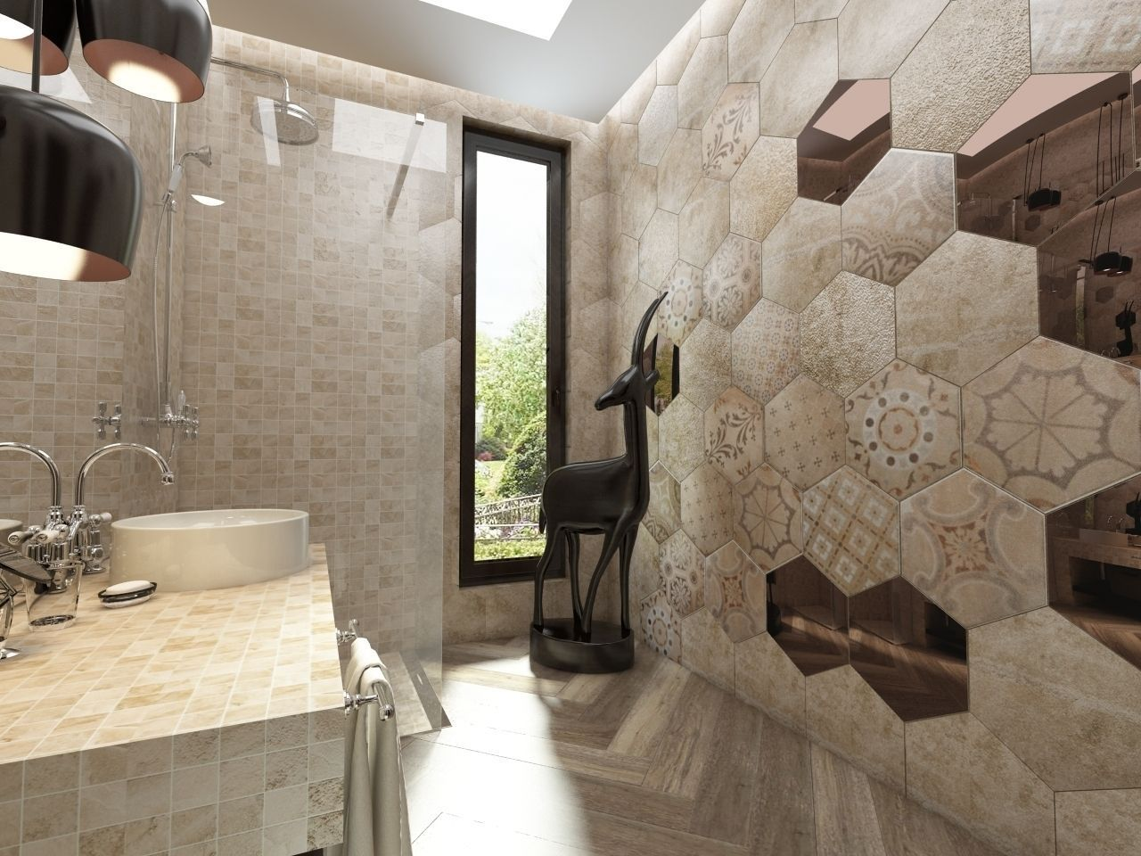3d bathroom italian ceramic tiles cgtrader bathroom italian ceramic tiles 3d model max fbx 1