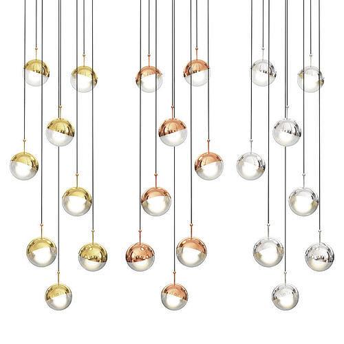 Dora 3 Led Linear Suspension Light by Seed Design