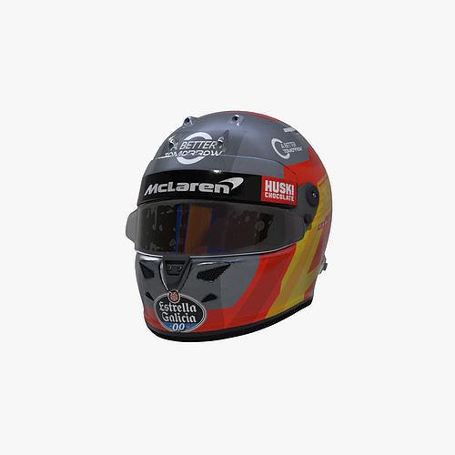 Sainz helmet 2020
