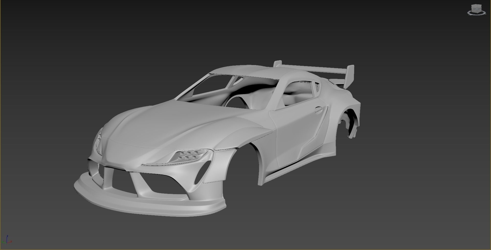 Toyota Supra 2020 Tuning  Body For Print