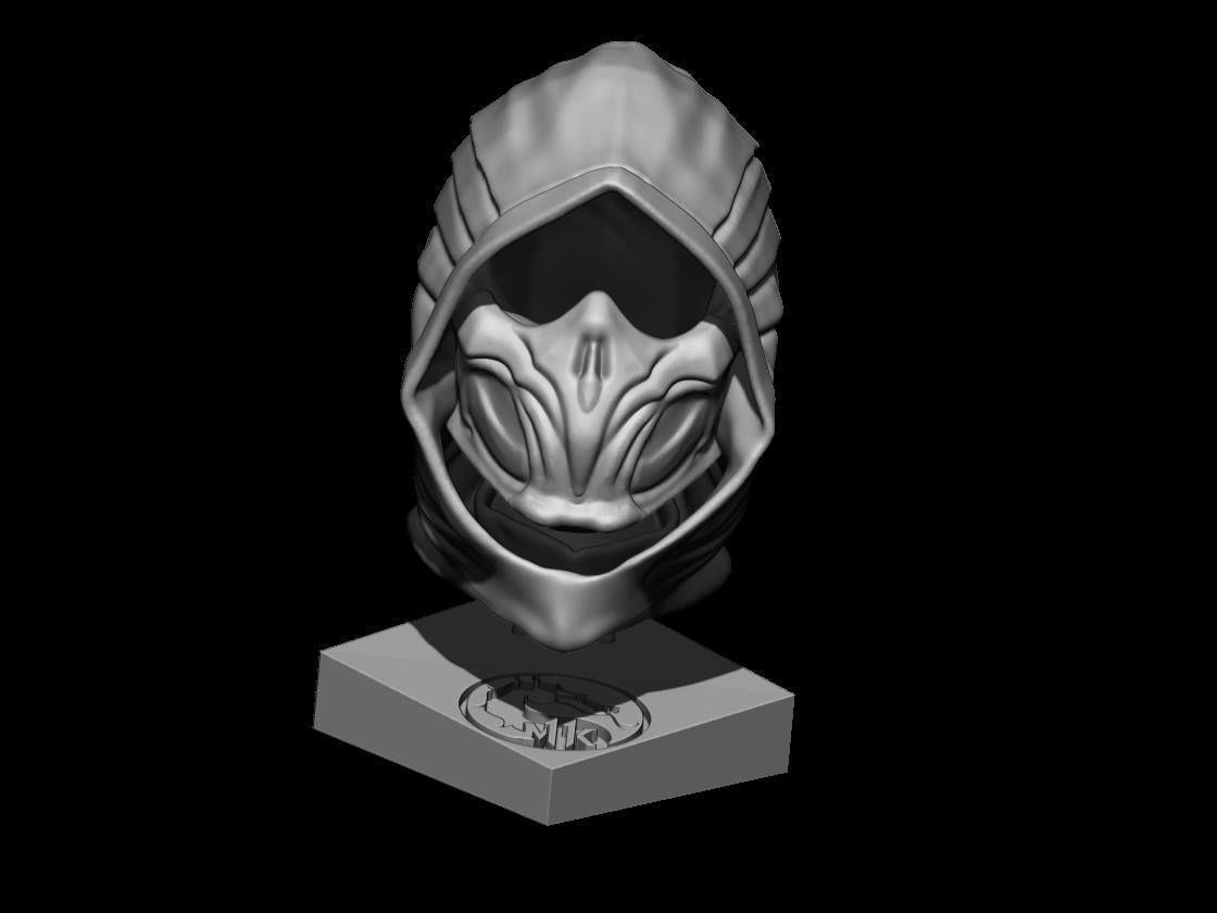 Scorpion  Bust  Mortal Kombat 11