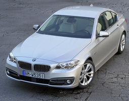 bmw 5 series 2014 3d model animated