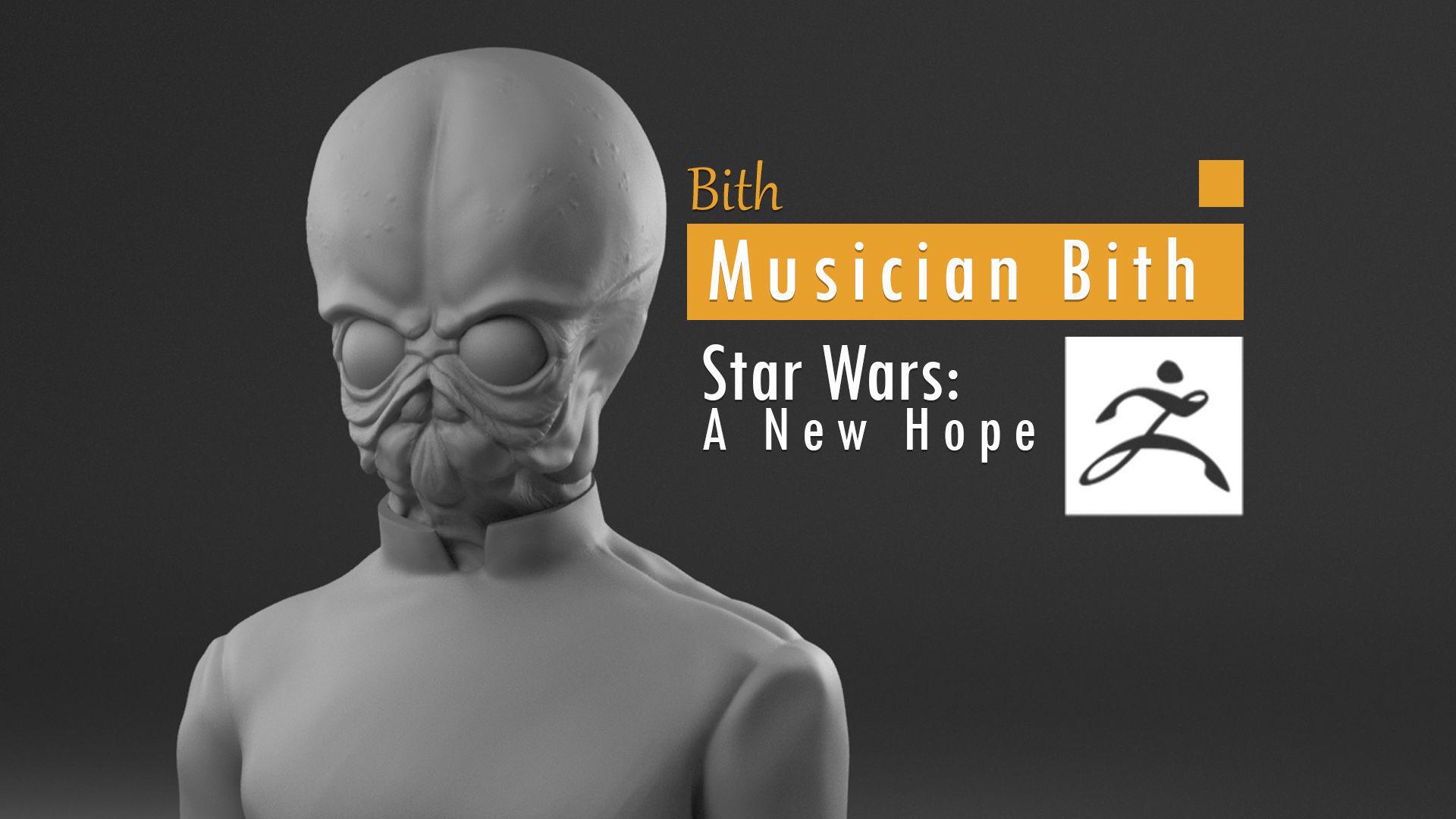 Bith - Bith musician Mos Eisley cantina - Star Wars A new hope