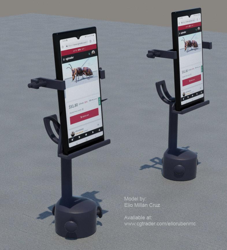 Cell phone Holder for car cupholder