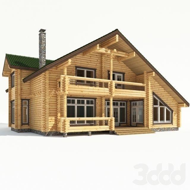 House model in 3d