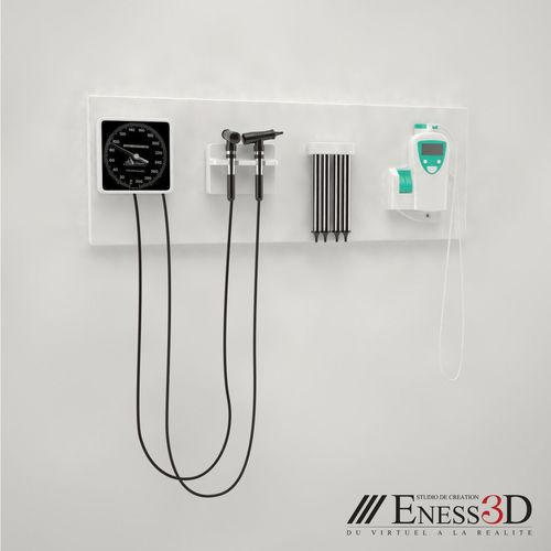 pro - lloyd oceanmed-diagnostic set 3d model max obj mtl fbx unitypackage prefab 1