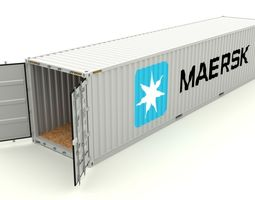 3D model Shipping Container Maersk