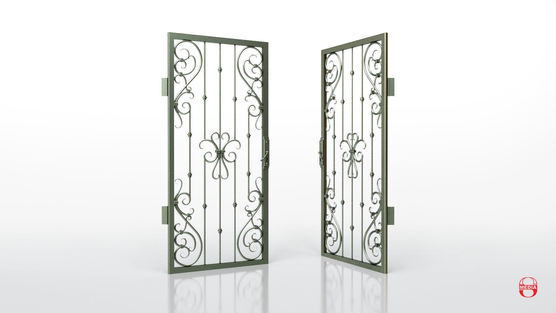 Metal Grille Gate