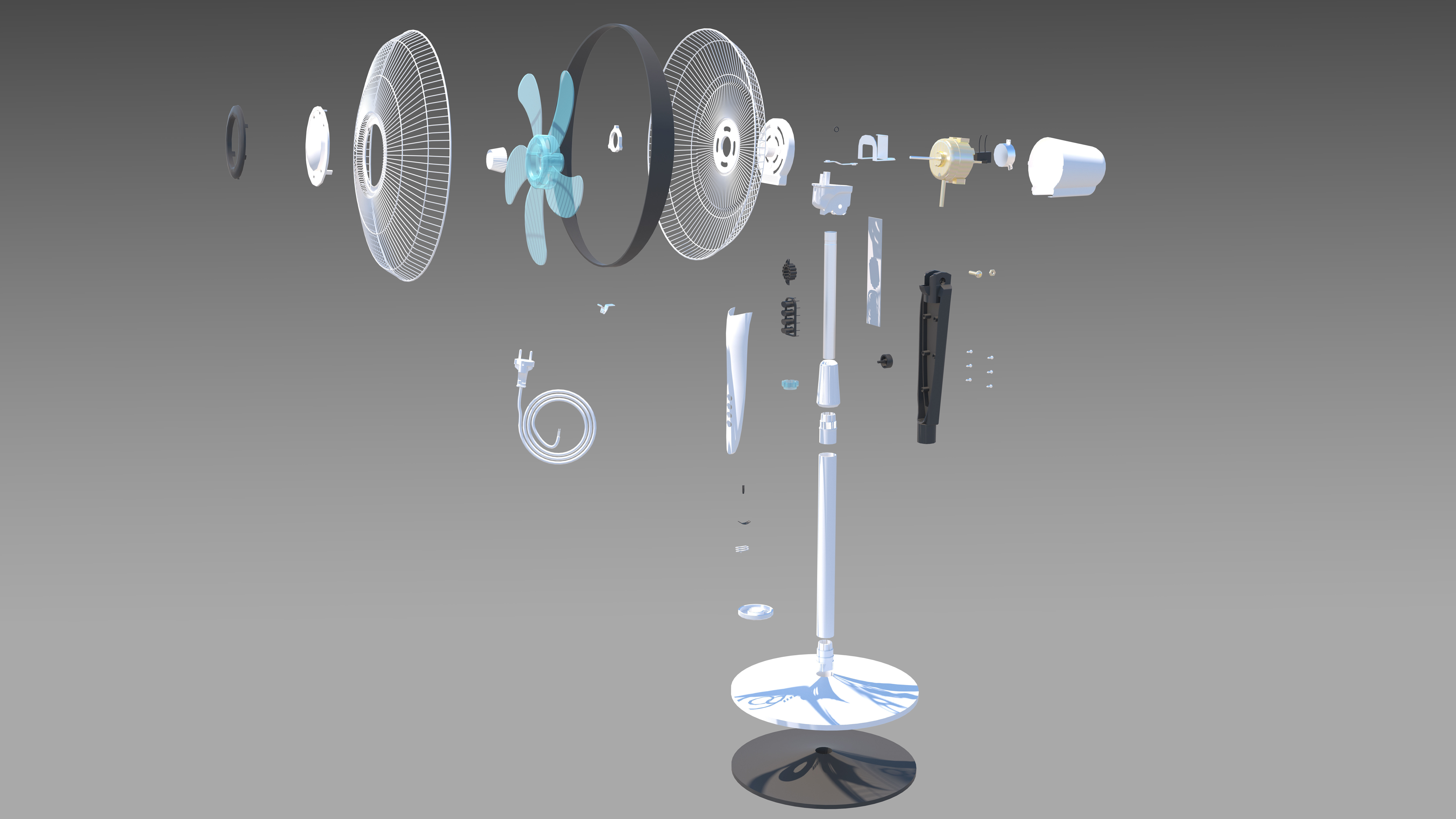 Fan Assembly all parts