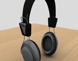 Headphone 3D model