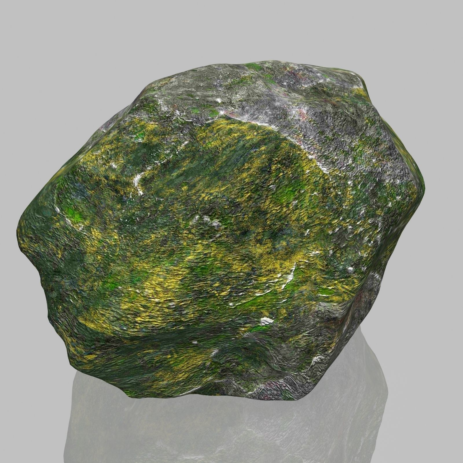 3D model Rock Stone 2 VR / AR / low-poly MAX OBJ 3DS FBX ... on Granite Models  id=36491