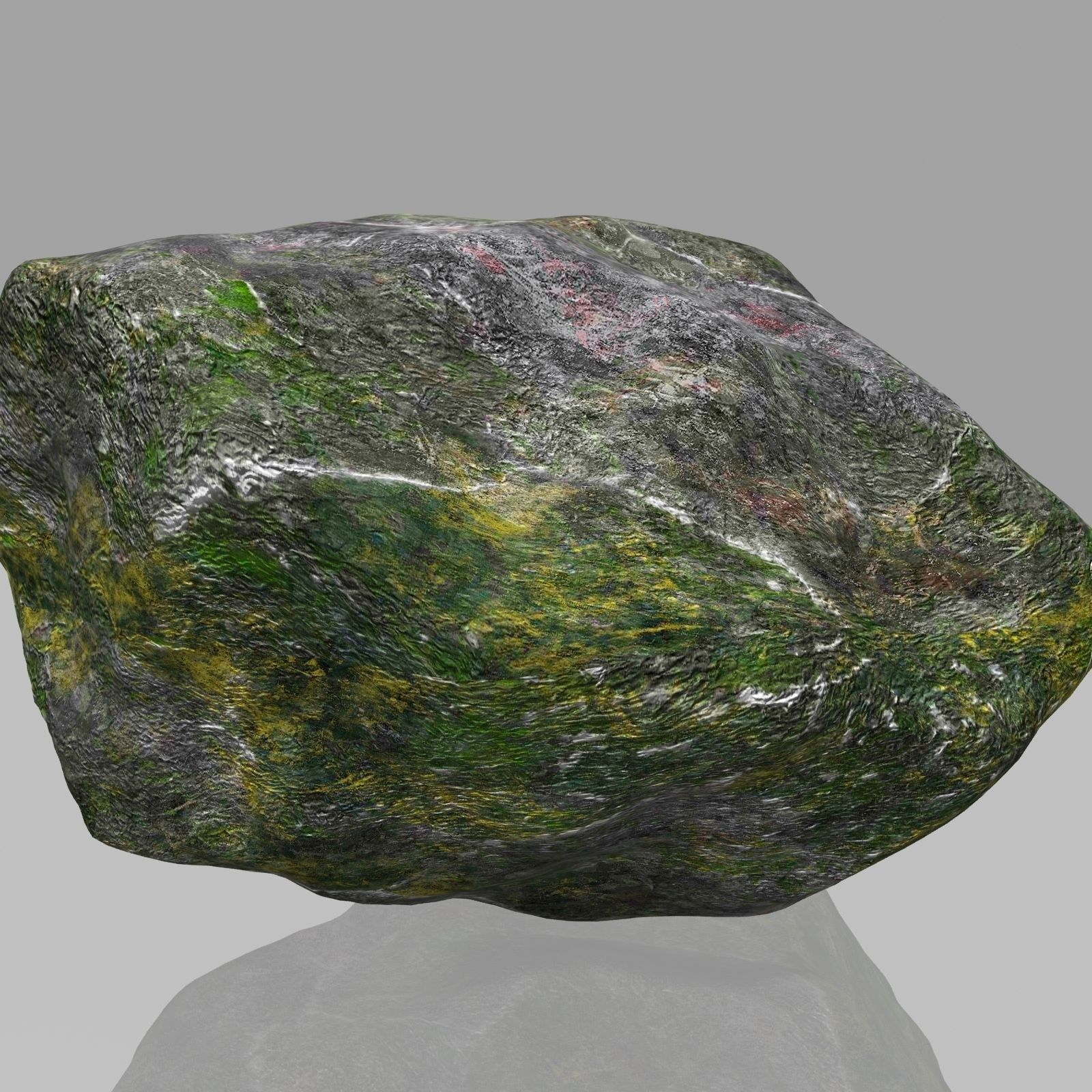 3D model Rock Stone 2 VR / AR / low-poly MAX OBJ 3DS FBX ... on Granite Models  id=44154