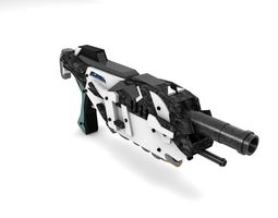 Futuristic Gun -2 - Exclusive Design 3D model