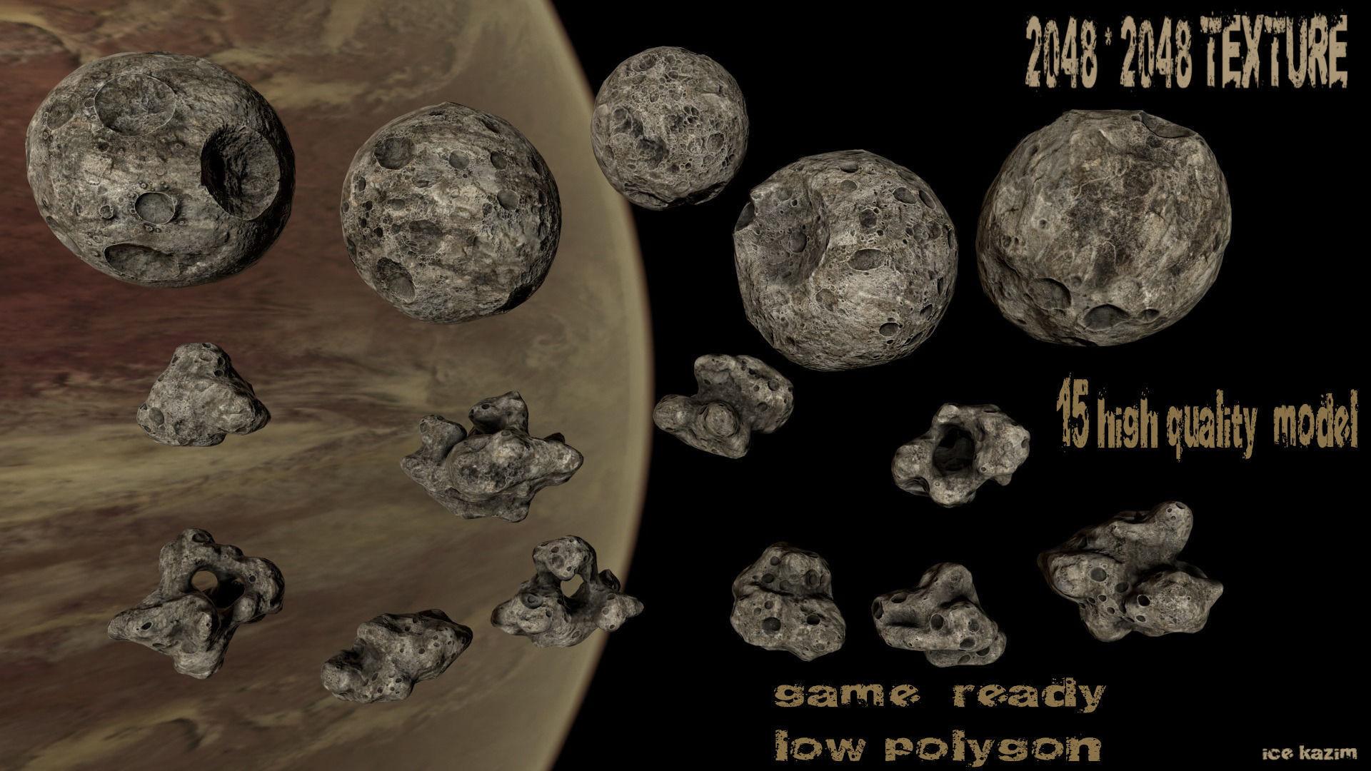 Asteroid set 03