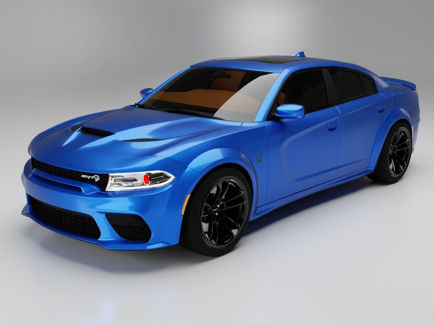 2021 Dodge Charger SRT Hellcat Redeye Widebody 3D model