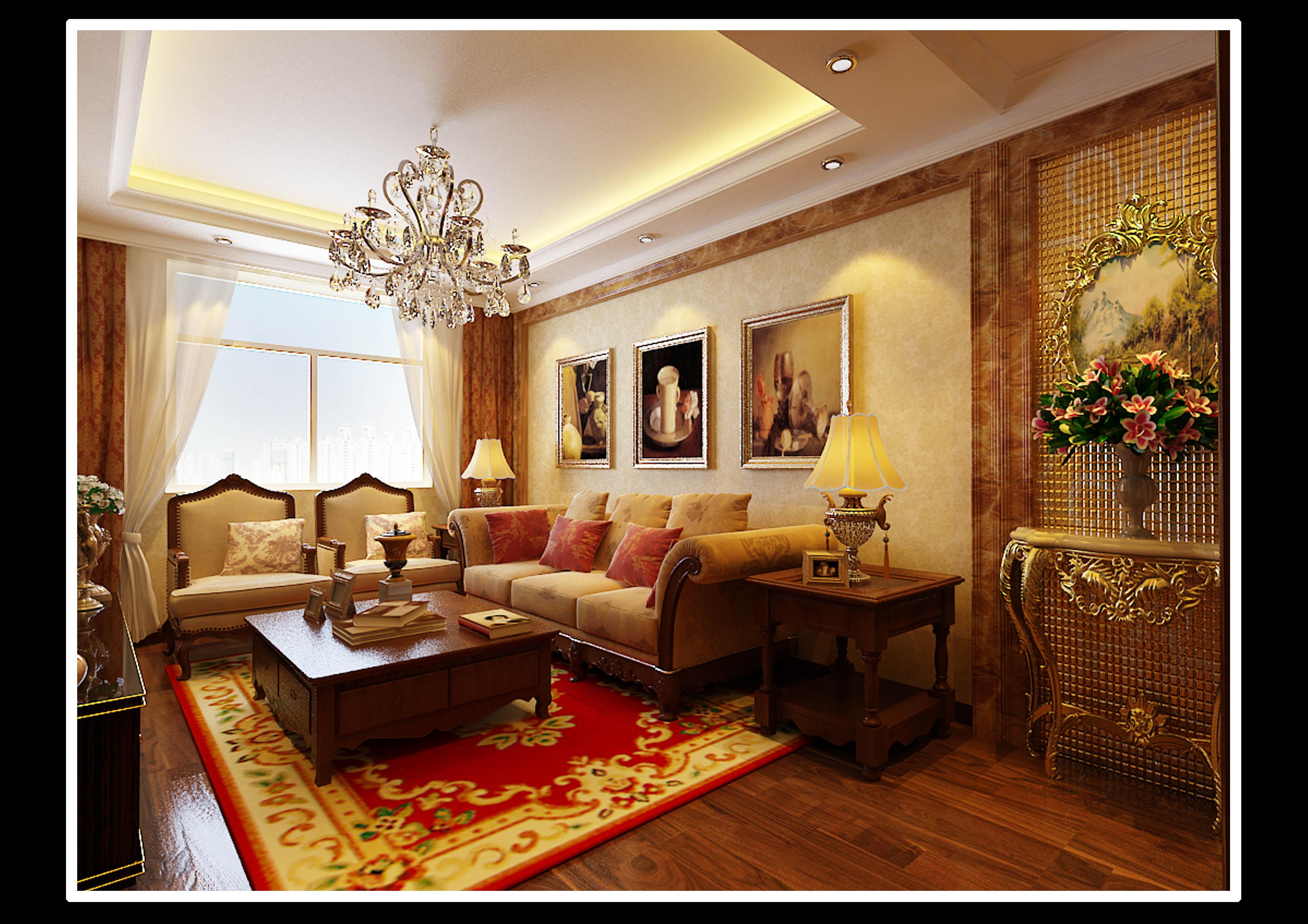 Comfortable Living Room 3D Model .max - CGTrader.com on Comfortable Living  id=92597