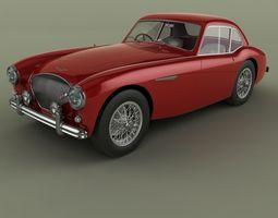 3D Austin-Healey 100S Coupe