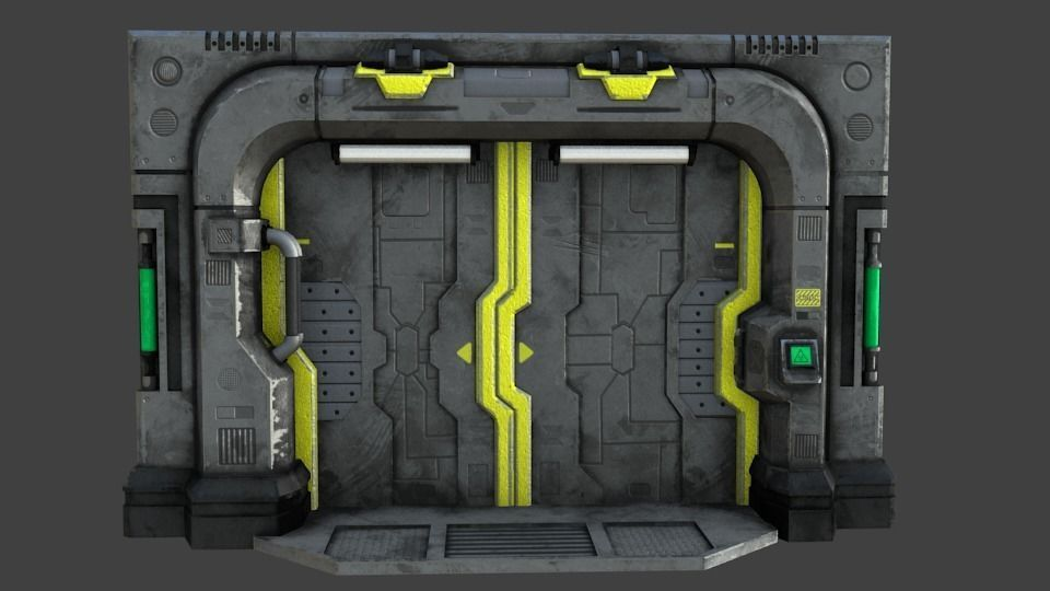 Sci-Fi Blast Door or Gate