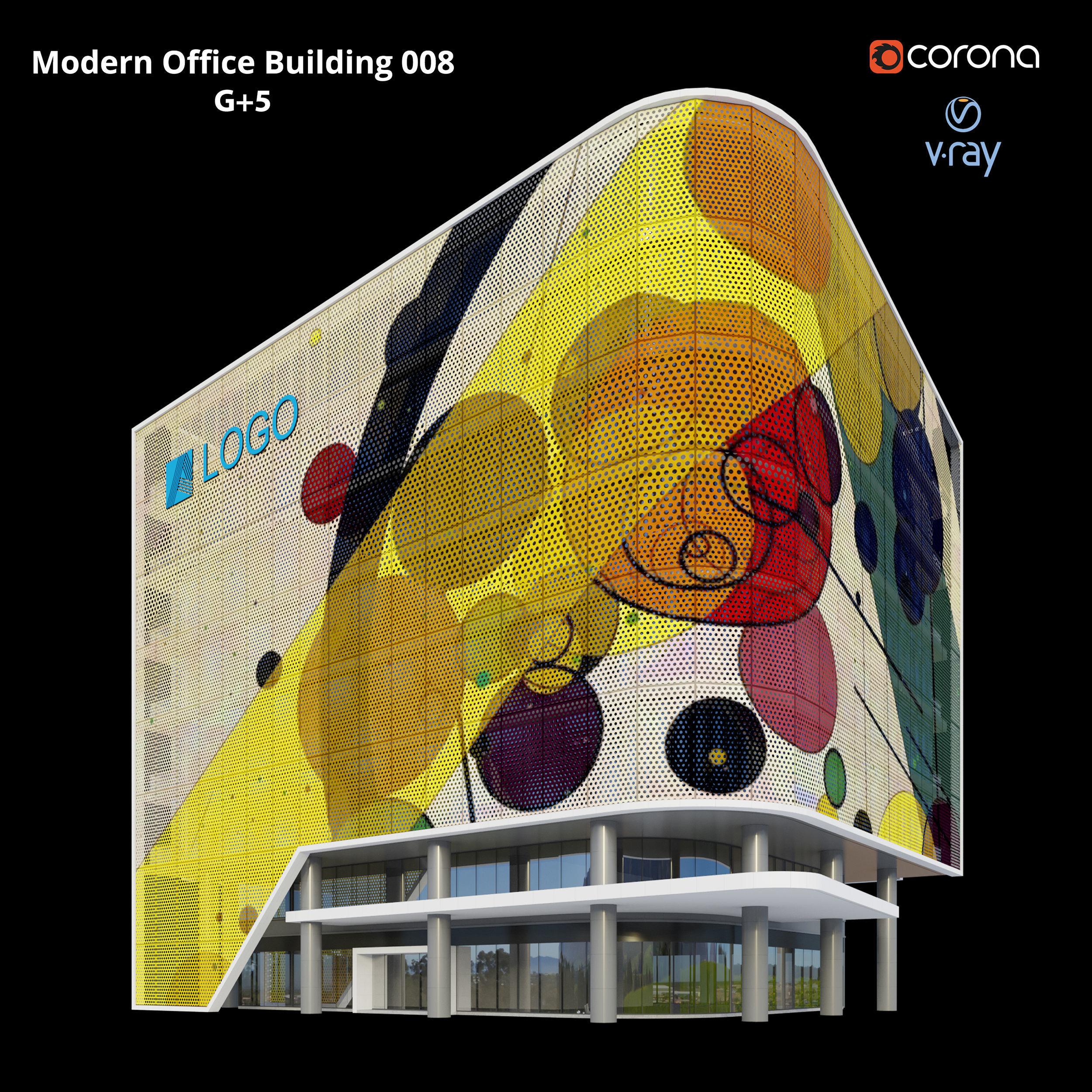 Modern Office Building 008