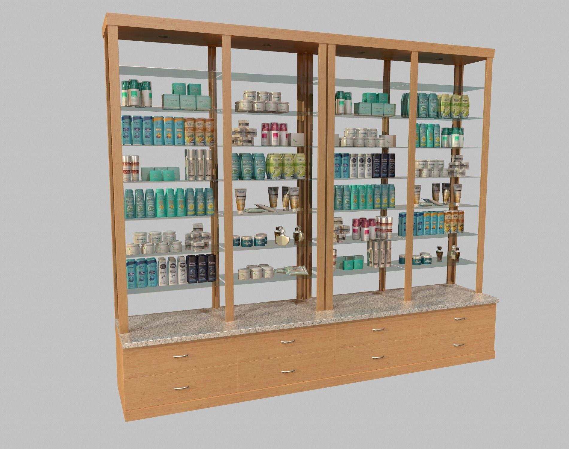 Cosmetics Stand vol3