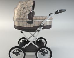 3D model Baby Carriage