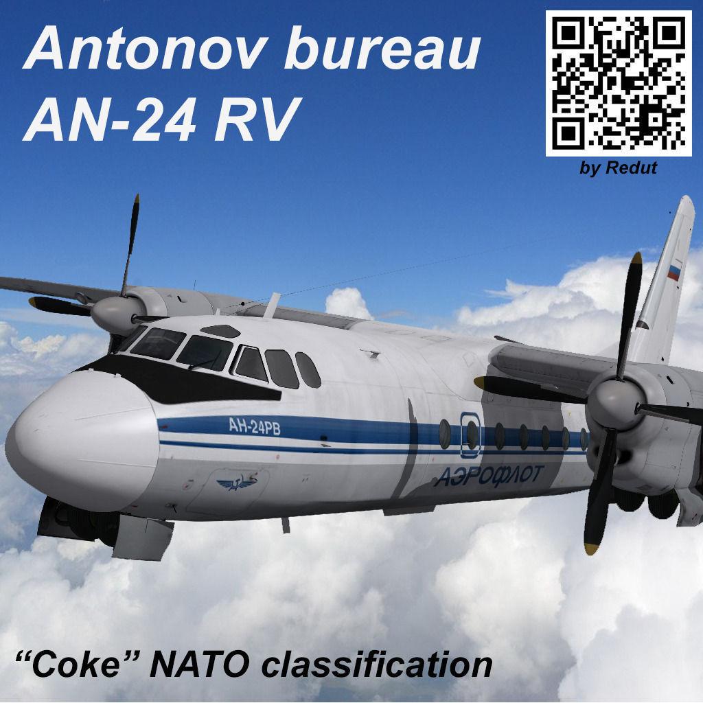 Antonov bureau AN-24RV