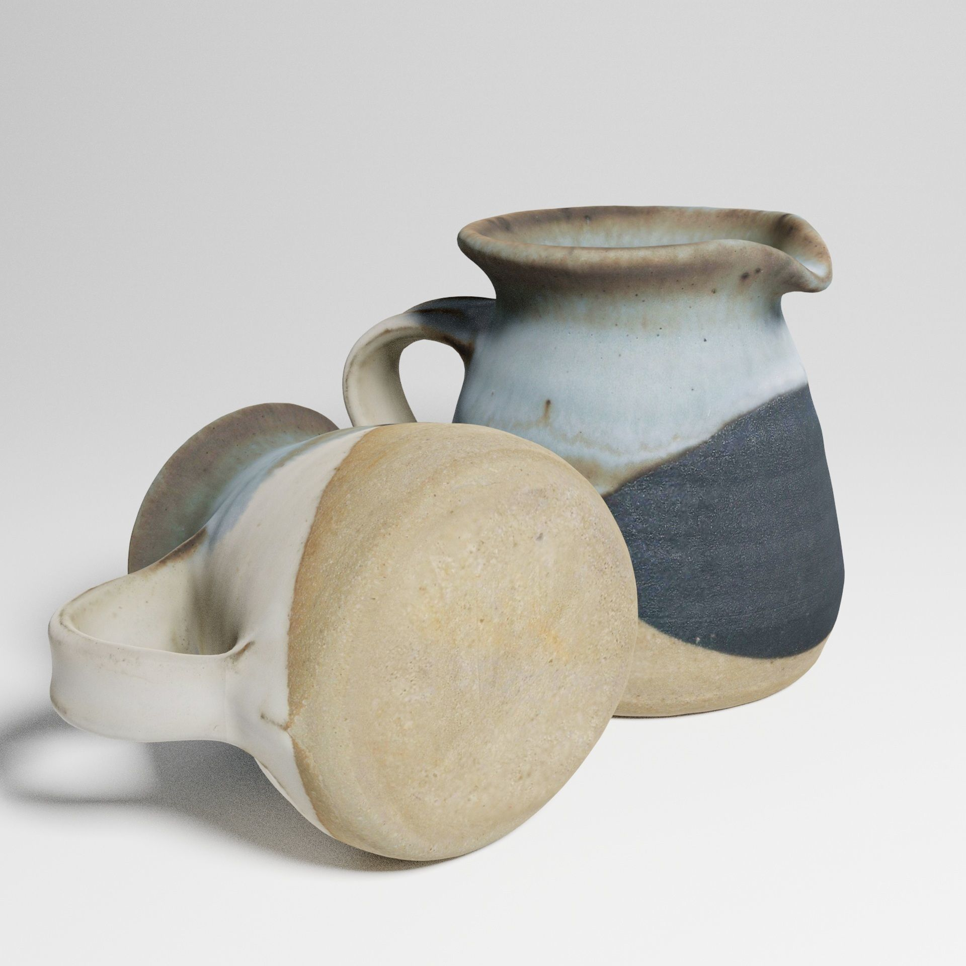 Vintage Ceramic Milk Jug 3d scan