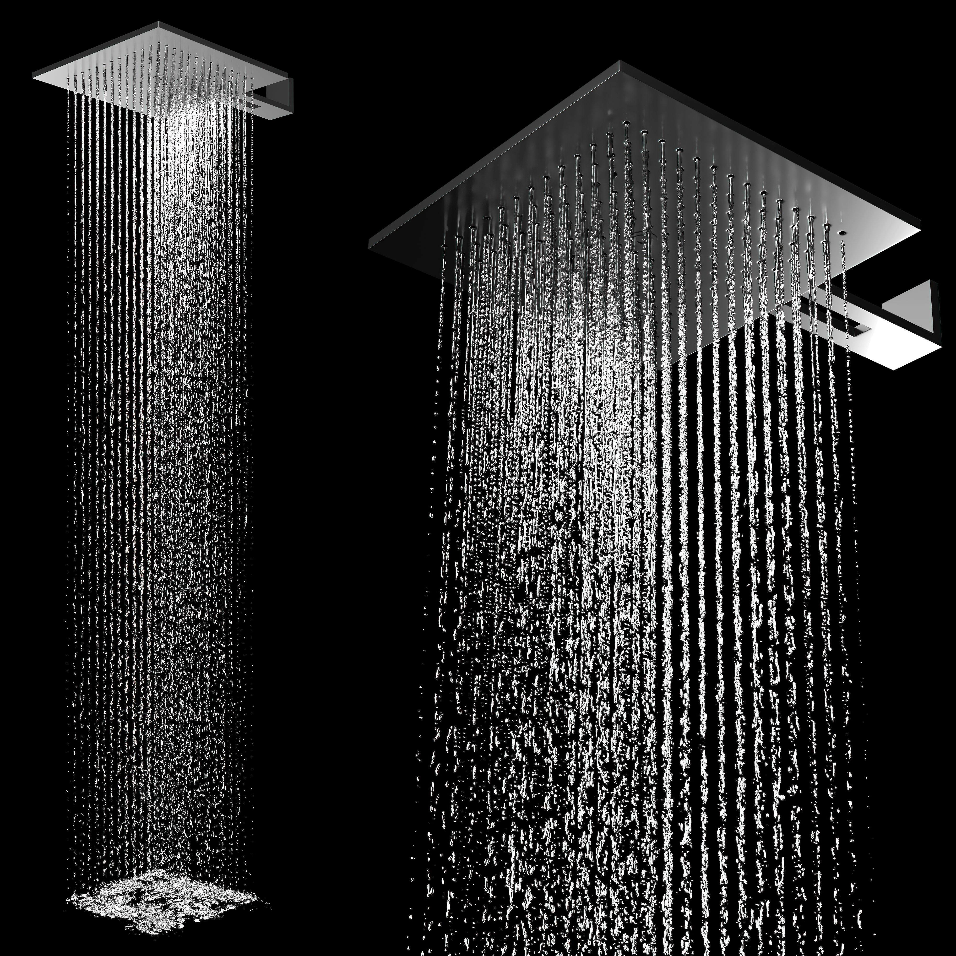 Acquadolce 2 Function Showerhead Stainless Steel