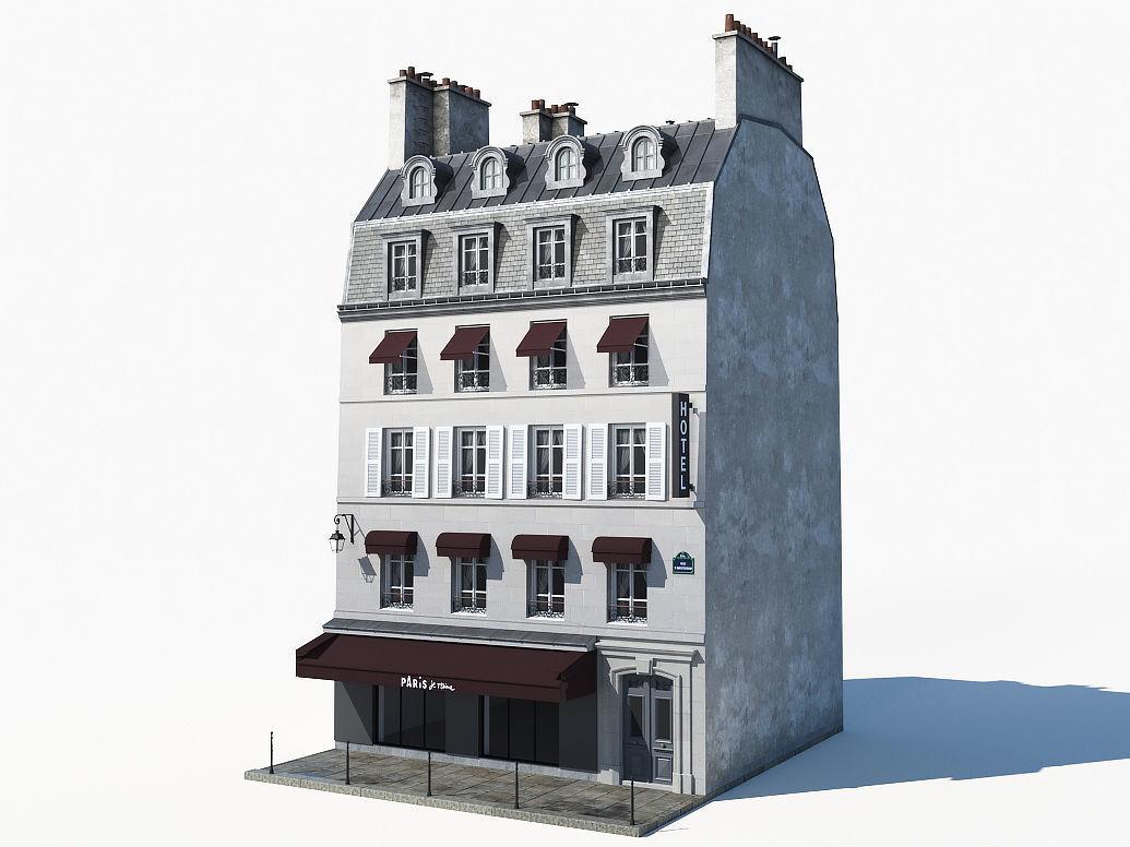 Parisian building 2