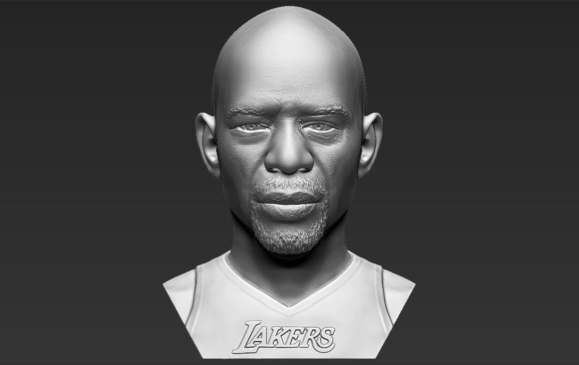 Kareem Abdul-Jabbar bust 3D printing ready stl obj formats