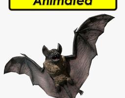 Vampire Dark Bat 3D Model