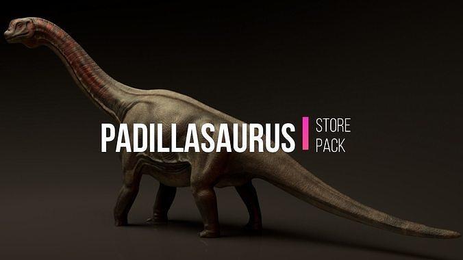Padillasaurus Asset Pack