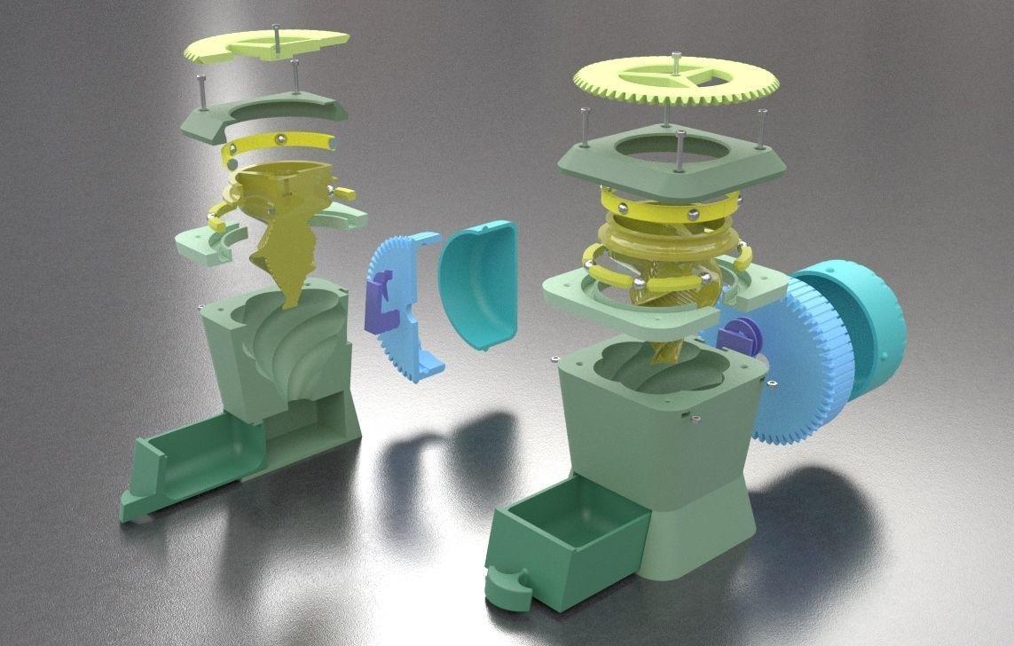 Hyphoon - Large Format Dry Herb grinder