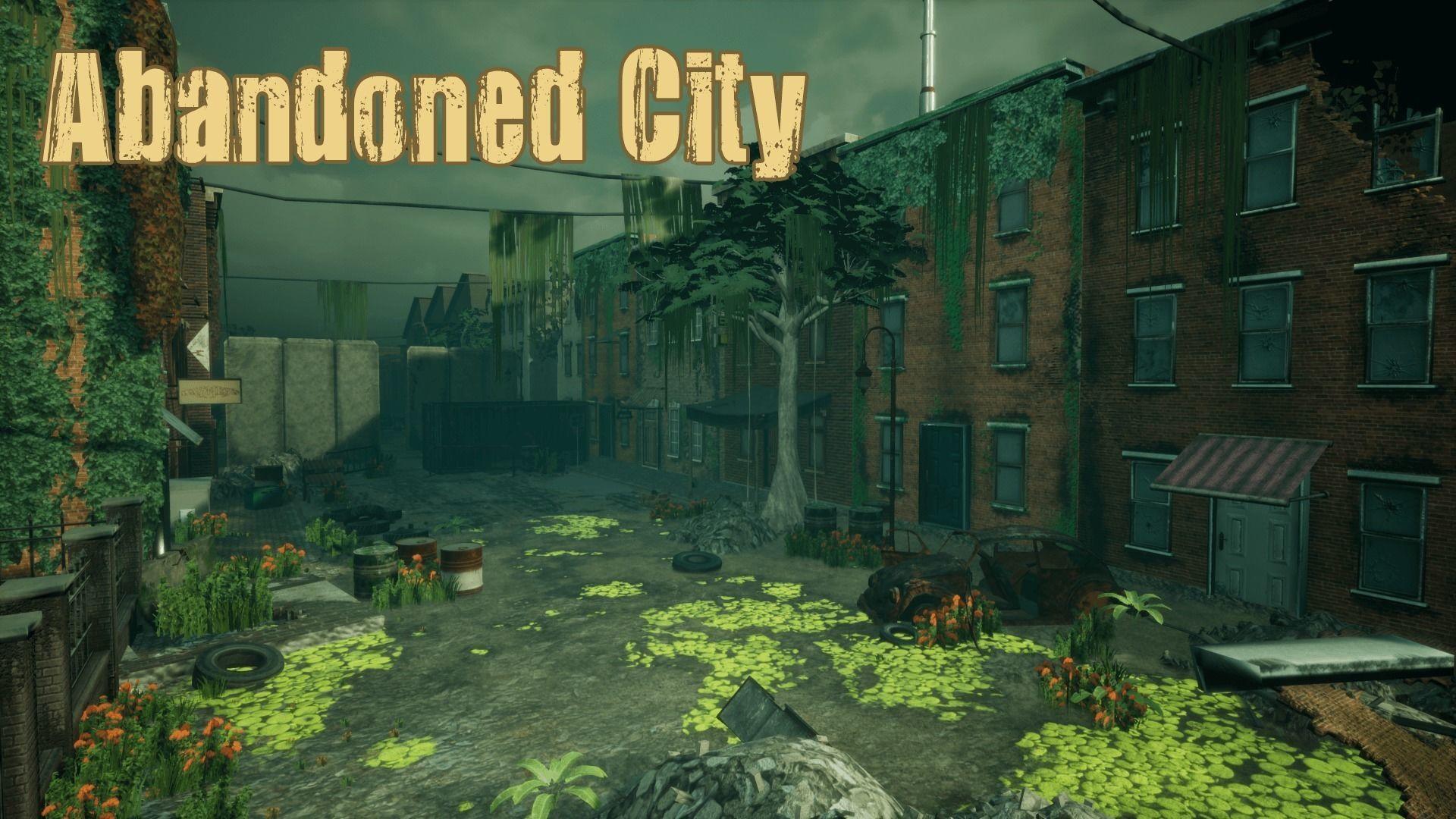 Abandoned City Unreal
