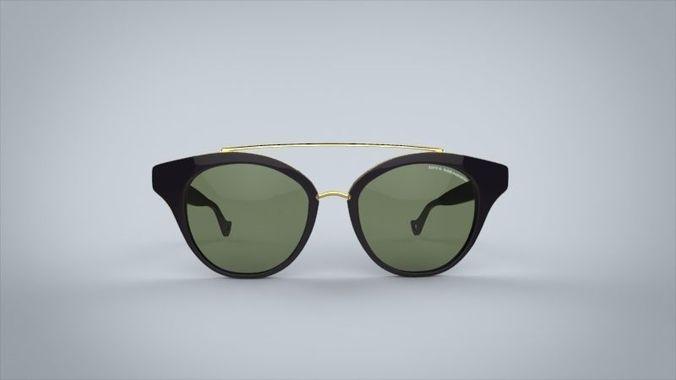 sunglasses dita medina 3d model max obj mtl fbx 1