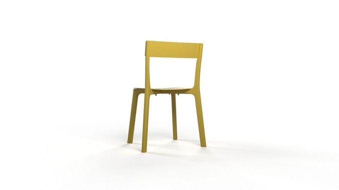 chair janinge 3d model max 1
